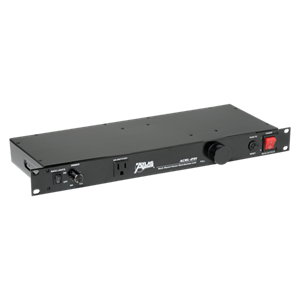 Picture of Rack Mount Power & Light Module 8 Switched Outlets, Front & Rear Pull Out Lights