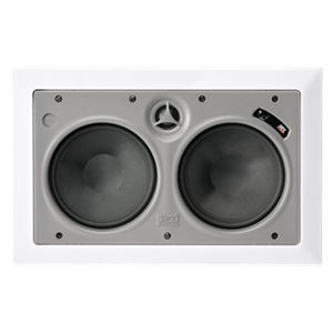 "Picture of Dual 6"" Premium shielded In-wall center channel speaker"