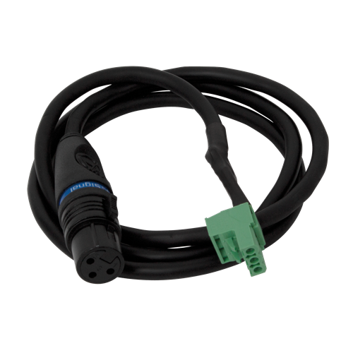 Picture of XLR to Phoenix Style Connector (1 Meter w/ 5.5mm Phoenix Connector for use with AA Series Amplifiers)