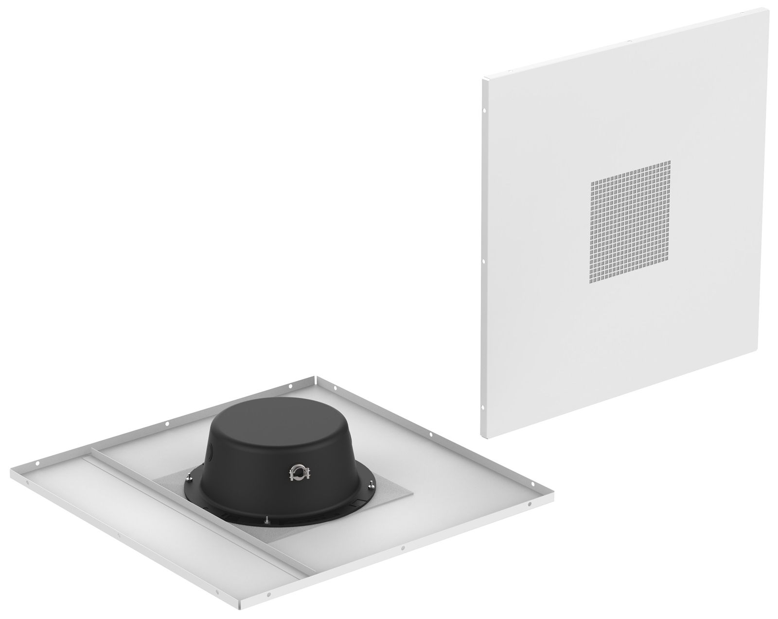 2 X 2 Drop Tile Loudspeaker Package Atlasied