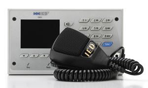Picture of 528 Series Digital Communication Station with CobraNet® Message Channels