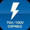 70V100VCAPABLE