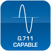G.711 Capable