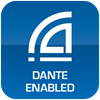 Dante Network Enabled