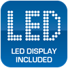 LED Display Included