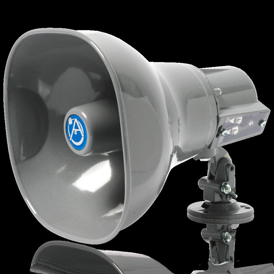 Horn Loudspeaker With 15 Watt 25v 70v 100v Transformer Atlasied Speaker Volume Control Wiring Diagram On