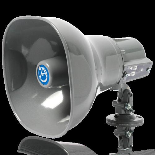 Horn Loudspeaker With 15 Watt 25v 70v 100v Transformer