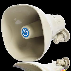 Picture of Horn Loudspeaker with 15-Watt 25V/70V/100V Transformer - Beige