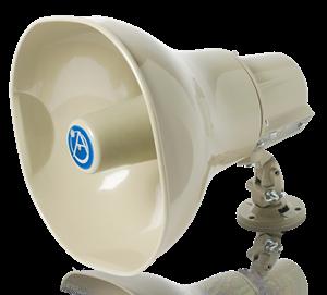 Picture of Horn Loudspeaker with 30-Watt 25V/70V/100V Transformer - Beige