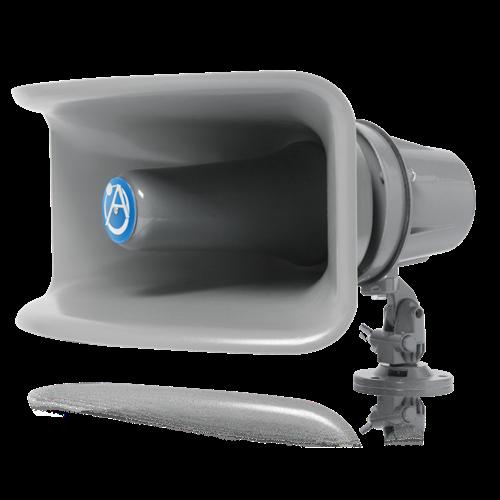 Wide Angle Horn Loudspeaker With 30 Watt 25v 70v 100v