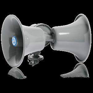 Picture of Dual Direction Twin Horn Loudspeaker with 30-Watt  25V/70V/100V Transformer