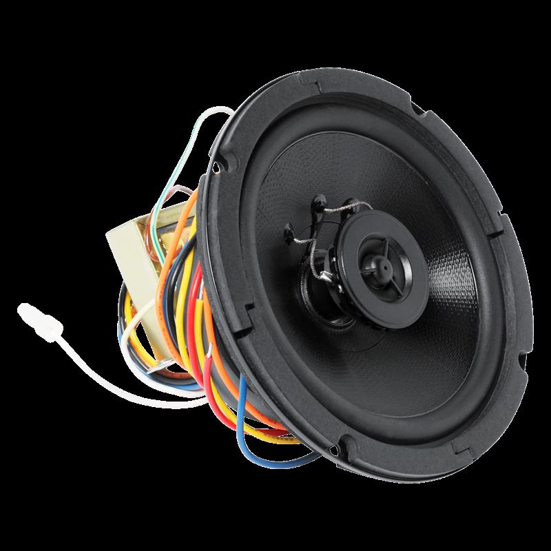 6 Quot Coaxial In Ceiling Loudspeaker With 8 Watt 70v