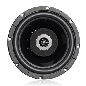 "Picture of 8"" Coaxial Speaker with 16-Watt 70.7V Transformer"