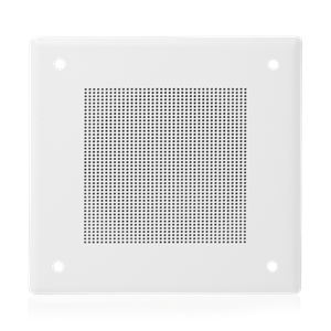 "Picture of 4"" In-Ceiling Speaker with 4-Watt 25V/70V Transformer and 161-4 Baffle"