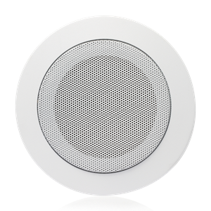 "Picture of 4"" In-Ceiling Speaker with 4-Watt 70V Transformer and T720-4 Baffle"