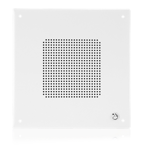 "Picture of 8"" Speaker with 4-Watt 25V/70V Transformer and  Vandal Resistant Baffle"
