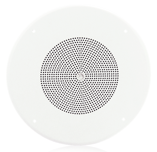 "Picture of 8"" In-Ceiling Loudspeaker with 5-Watt 70V Transformer and 62-8 Baffle"