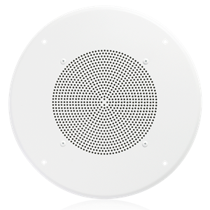 "Picture of 8"" In-Ceiling Speaker with 4-Watt 25V/70V Transformer and 62-8 Baffle That Meets Buy America Requirements"