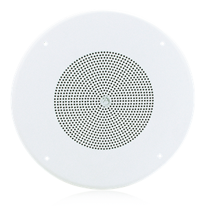 "Picture of 8"" Coaxial In-Ceiling Loudpeaker with 70.7V 8-Watt Transformer and 62-8 Baffle"