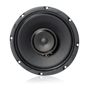 "Picture of 8"" In-Ceiling Coaxial Loudspeaker with 8-Watt 70V Transformer"