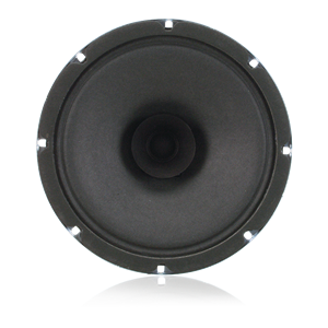 "Picture of 8"" Dual Cone In-Ceiling Speaker with 4-Watt 25V/70V Transformer and 10oz Magnet"