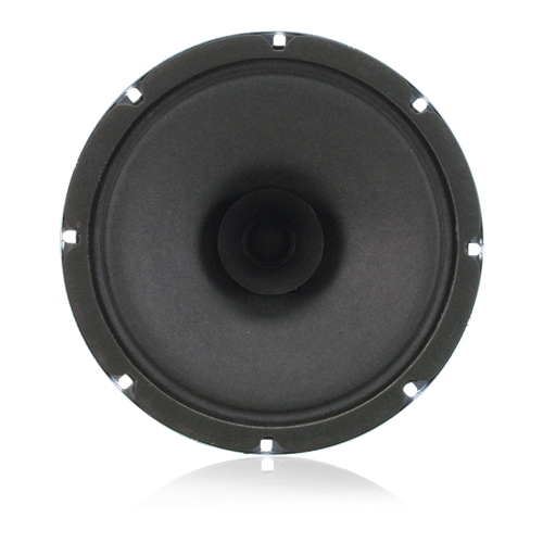 "Picture of 8"" Dual Cone In-Ceiling Loudspeaker with 4-Watt 25V/70V Transformer and 5oz Magnet"