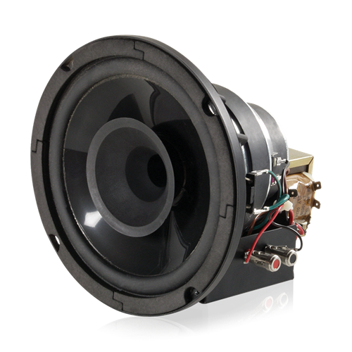 "Picture of 8"" In-Ceiling Coaxial Compression Driver with 60-Watt 70V/100V Transformer"