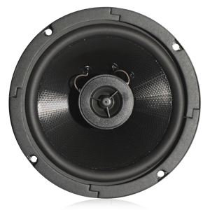 "Picture of 6"" Coaxial In-Ceiling Speaker with 4-Watt 70V Transformer"