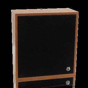 Picture of 8 inch Slant Wall Mount Speaker/Baffle Package 25/70.7V-4W xfmr w/ Volume Control