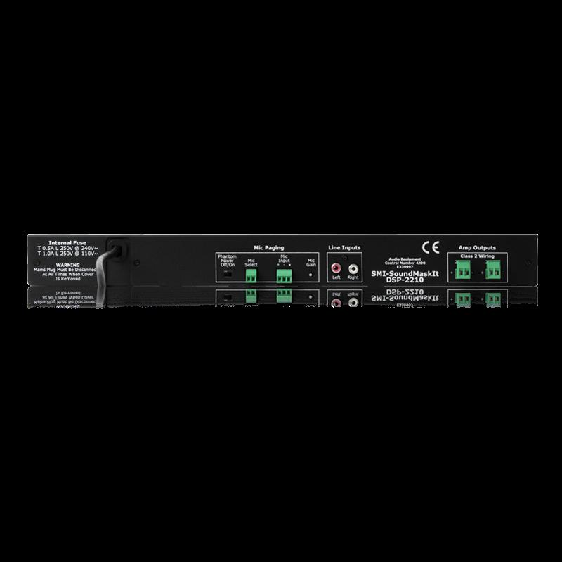 2-Channel Digital Sound Masking Processor and Amplifier | AtlasIED