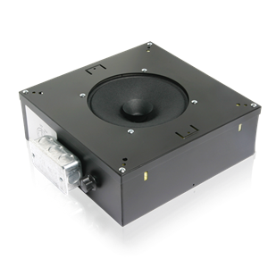 "Picture of 8"" Sound Masking Speaker with 5-Watt 70V Transformer and Enclosure"