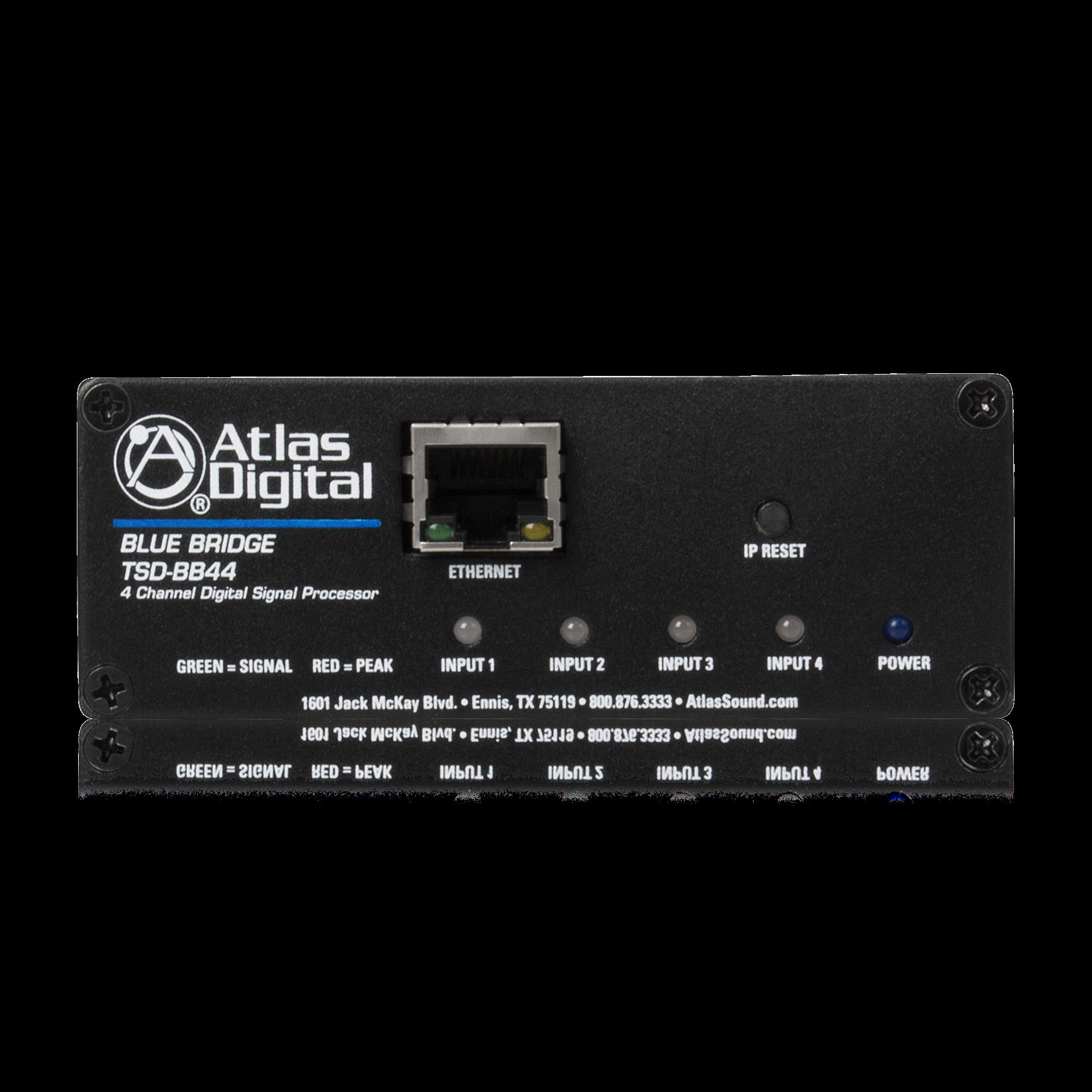 4 Input X 4 Output Dsp Audio Processor Atlasied
