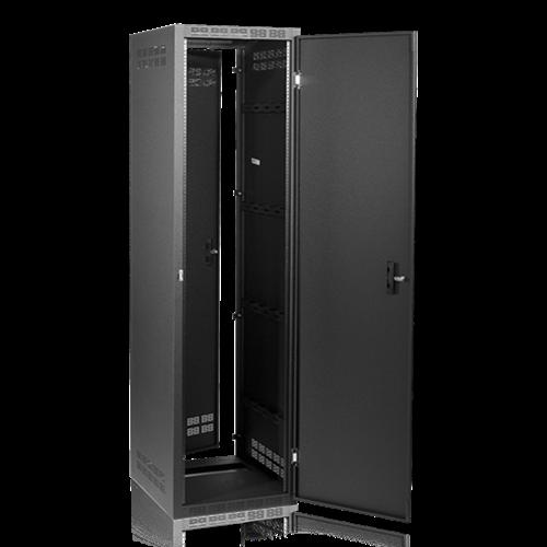 Picture of Welded Rack 25.5 inch Deep, 44RU   *Shown with OPTIONAL Front Door**