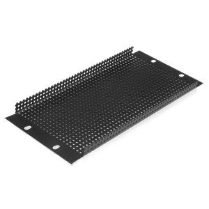 Picture of Half Rack Perforated Recessed Blank Panel 2RU
