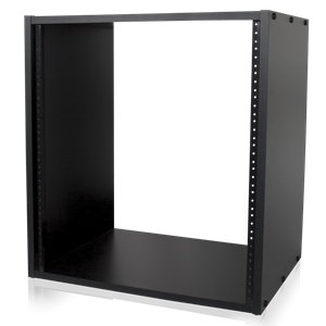 Picture of 5/8 inch High Grade Black MDF Rack 12RU