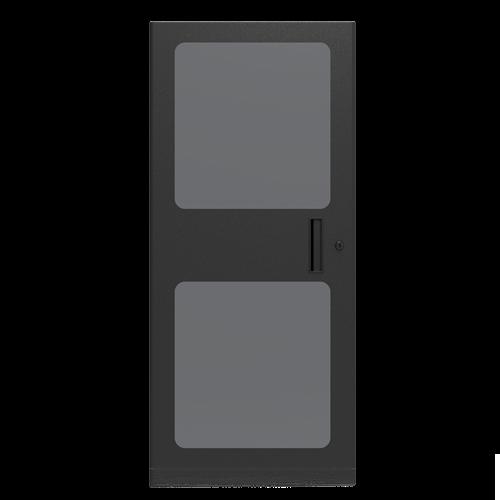 Picture of 1 inch Deep Plexiglass Door for 24RU WMA, 100, and 200 Series Racks
