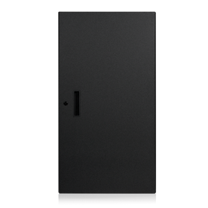 Picture of Solid Front Door for 21RU 100, and 200 Series Racks