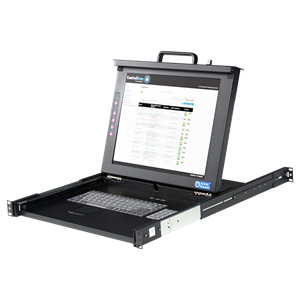 Picture of 17 inch LCD Single Rail Console