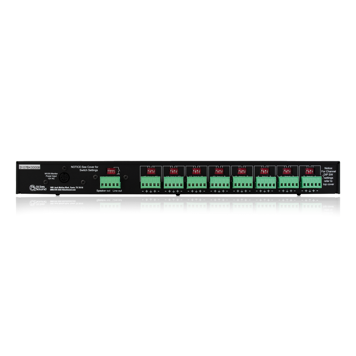 16 Channel Active Audio Monitor Panel Atlasied An Easy To Use Led Bargraph Display Levels Circuit
