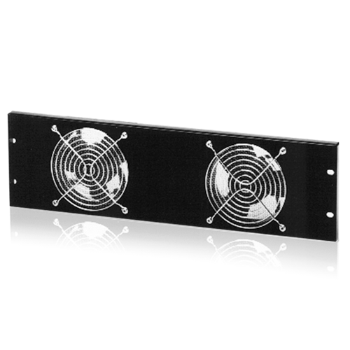 Picture of 19 inch Dual Fan Panel Recessed Mount
