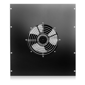Picture of High Power (550 CFM) Top-Mounting Fan Panel 25½ inch Deep Rack