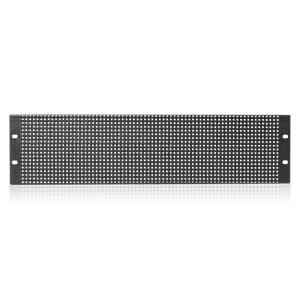 Picture of 19 inch 2 RU Flush Vent Rack Panel