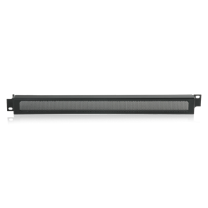 Picture of 19 inch Rack Mount Security Panel 1RU Ebony