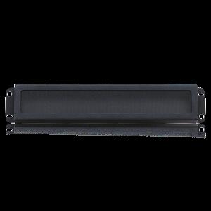 Picture of 19 inch Rack Mount Security Panel 2RU Ebony Black