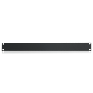 Picture of 19 inch Blank 1 RU Recessed Rack Panel