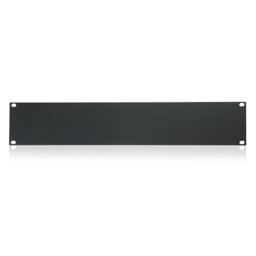 Picture of 19 inch Blank 2 RU Recessed Rack Panel