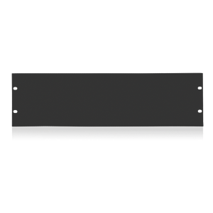 Picture of 19 inch Blank 3 RU Recessed Rack Panel