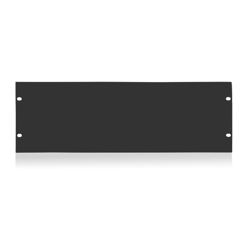 Picture of 19 inch Blank 4 RU Recessed Rack Panel