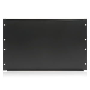 Picture of 19 inch Blank 6 RU Recessed Rack Panel