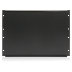 Picture of 19 inch Blank 8 RU Recessed Rack Panel